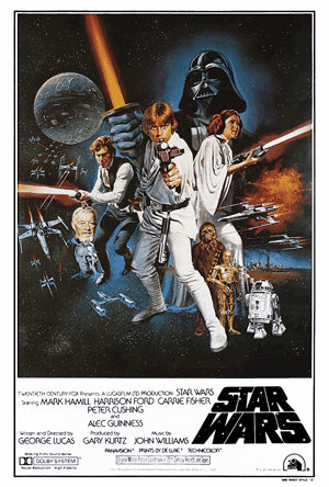 Star Wars Poster Style 'C' - American