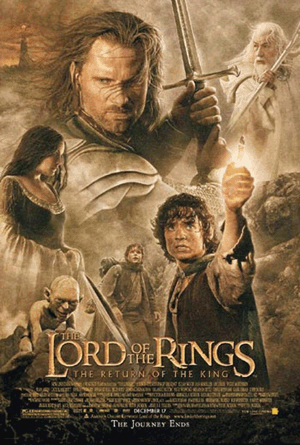 Der Herr der Ringe - Return of the King Poster