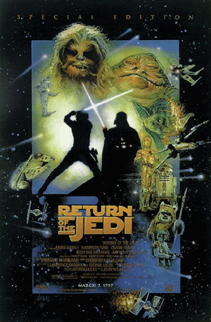 Star Wars - Return Of The Jedi (Special Edition) Poster