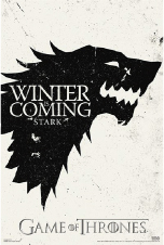 Game of Thrones Poster Winter is Coming